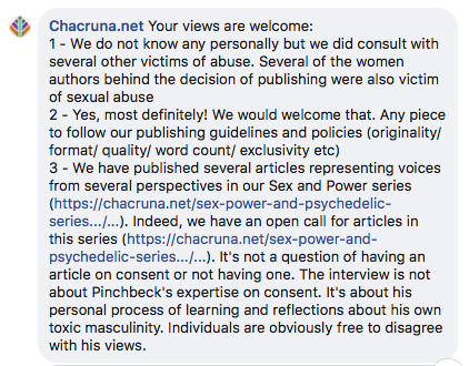 chacruna response